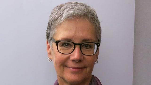 CVP-Parteipräsidentin Andrea Strahm