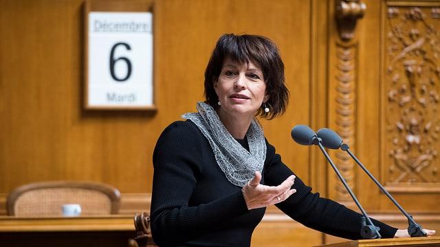 Cussegliera federala Doris Leuthard
