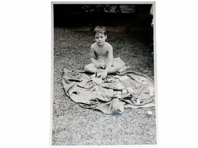 Matthias in den glorreichen 60'er. Auf diesem Bild ist er ca. 5 Jahre alt.