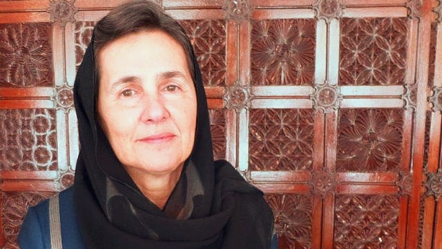 Rula Ghani.