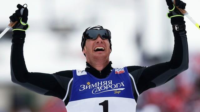 Dario Cologna trumpft an der Nordisch-WM in Val di Fiemme gross auf.