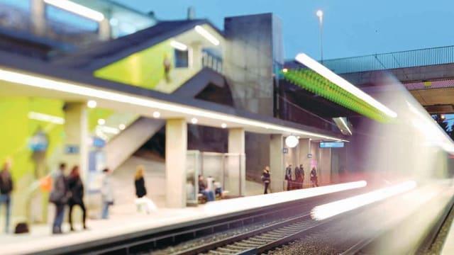 Visionäres Projekt: Das Herzsstück der Regio-S-Bahn soll eine Verbesserung des öffentlichen Verkehrs erreichen.