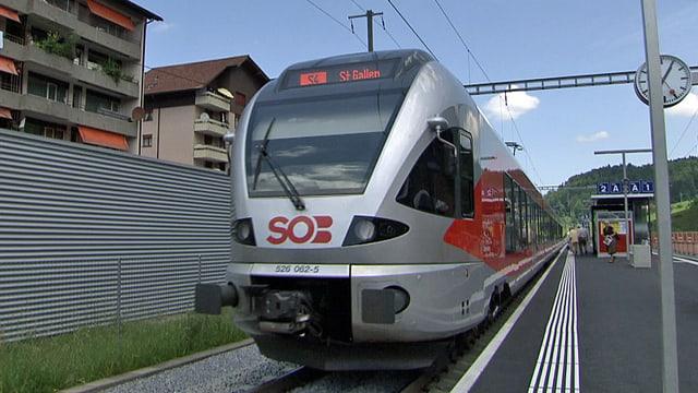 FLIRT-Zug der SOB.