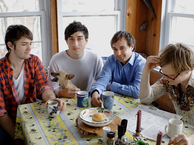 Grizzly Bear machten 2009 mit ihrem Album «Veckatimest» auf sich aufmerksam und doppelte dieses Jahr mit «Shields» nach.