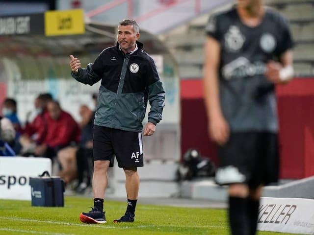 Wil-Trainer Alex Frei.