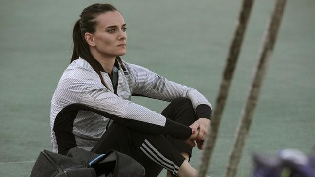 La campiunessa olimpica en siglir cun l'asta dal 2004 e 2008, Jelena Isinbajewa