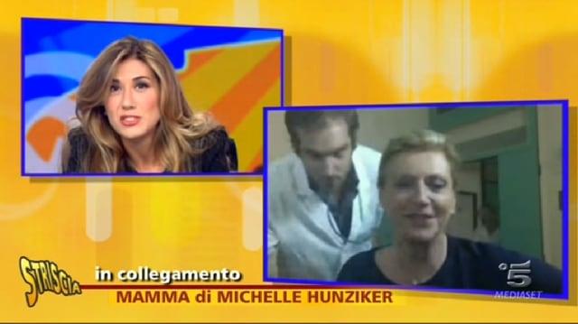 Michelle Hunzikers Mutter und Tomaso Trussardi in der Direkt-Schaltung aus der Klinik.