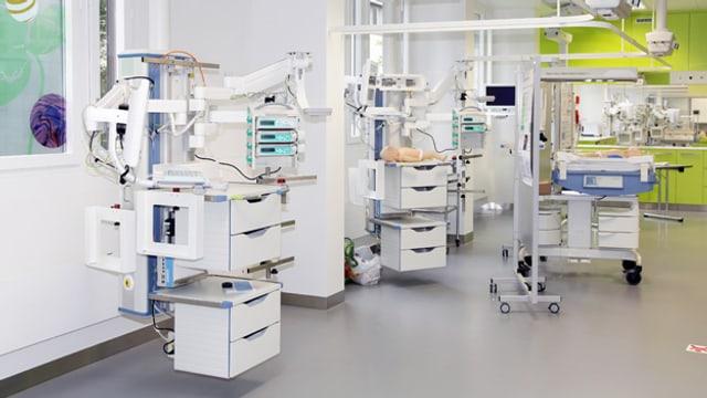 Die topmoderne Neonatologie-Abteilung des Unispitals Zürich: Es fehlt noch an Personal.