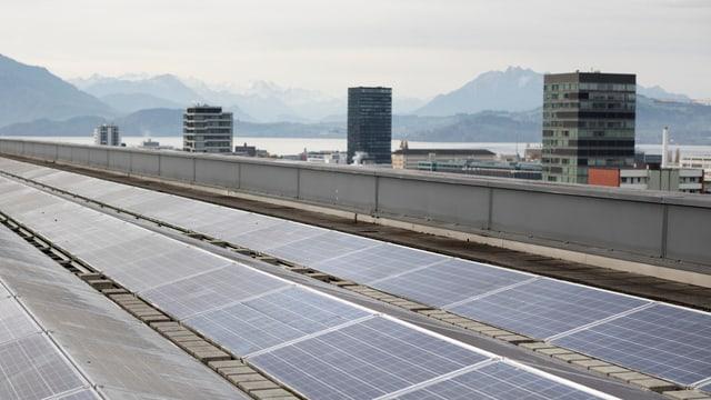 Solaranlage in Zug