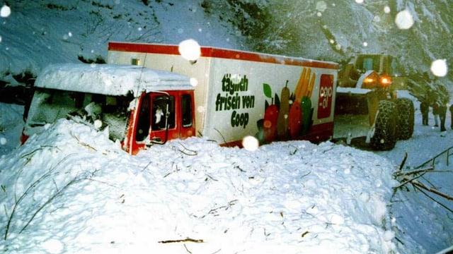 Grosse Schneemassen auch in Graubünden.