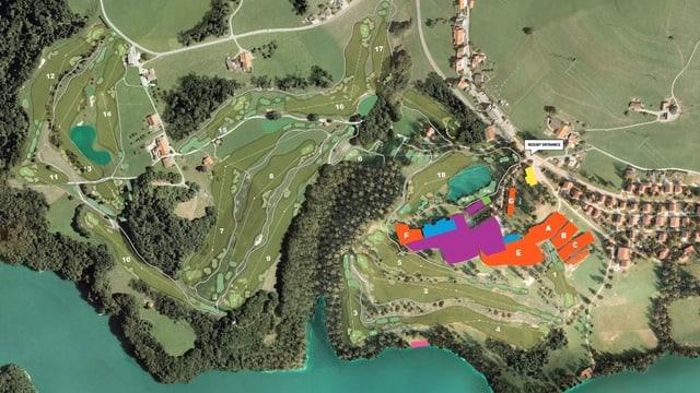 Das «Golf Resort La Gruyère»