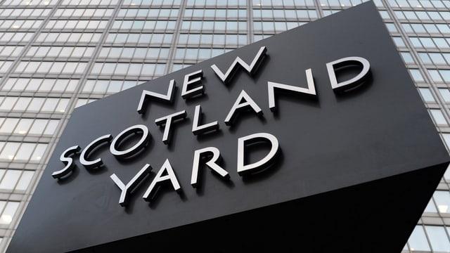 Hauptquartier Scotland Yard in London.