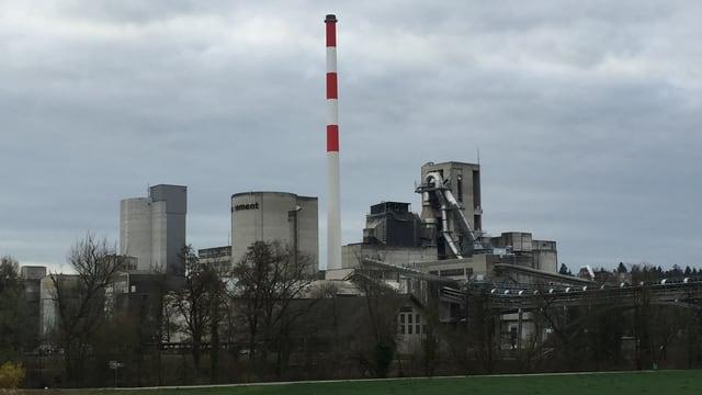 Die Zementfabrik in Wildegg