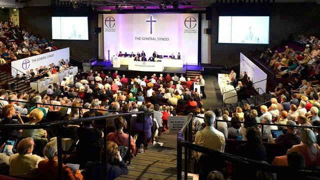Die Synode der anglikanischen Kirche von England