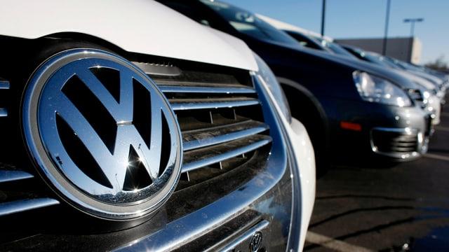 Logo da VW.