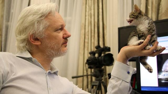 Julien Assange & Büsi