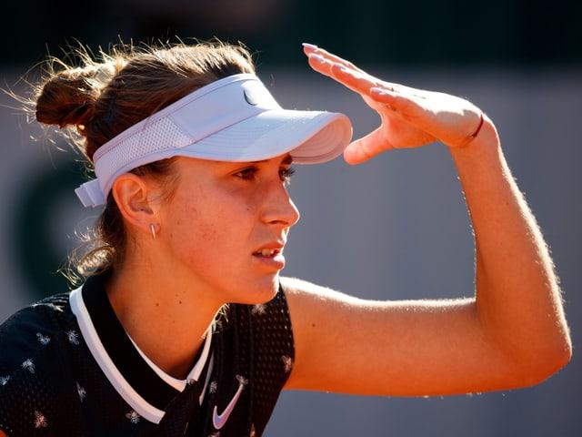 Belinda Bencic ist weiter auf dem Vormarsch.
