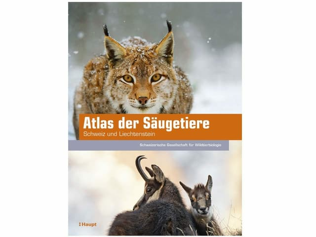Cuverta dal cudesch «Atlas der Säugetiere der Schweiz und Liechtenstein».