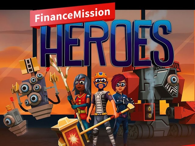 Homepage Finance Mission Heroes