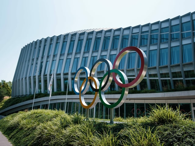 Der IOC-Sitz in Lausanne.