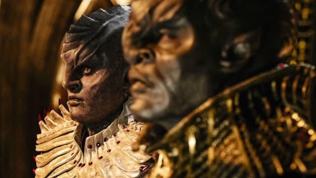 Zwei Klingonen in der neuen Serie