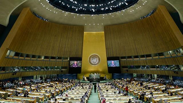 UNO-Plenarsaal in New York