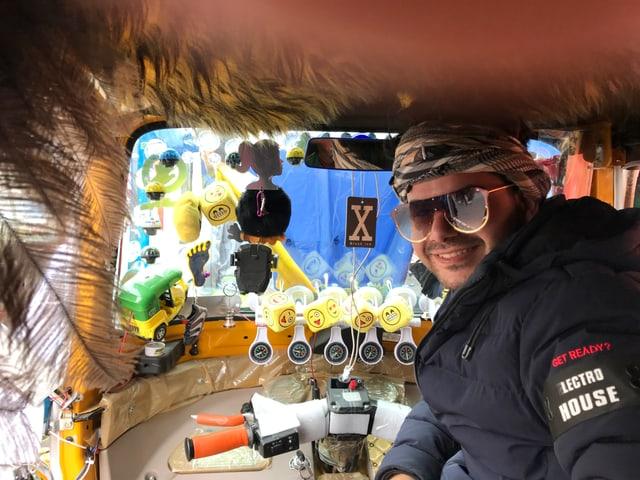 Rasul, Tuktuk-Fahrer