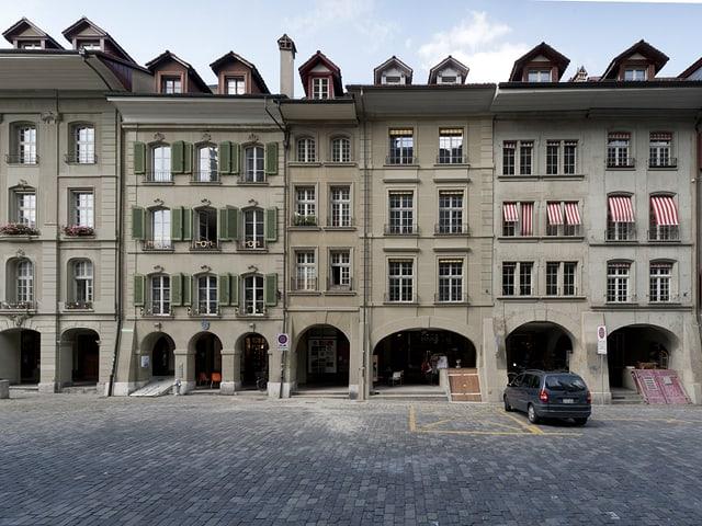 Häuserreihe in der Münstergasse.