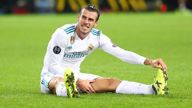 Gareth Bale einmal mehr verletzt.
