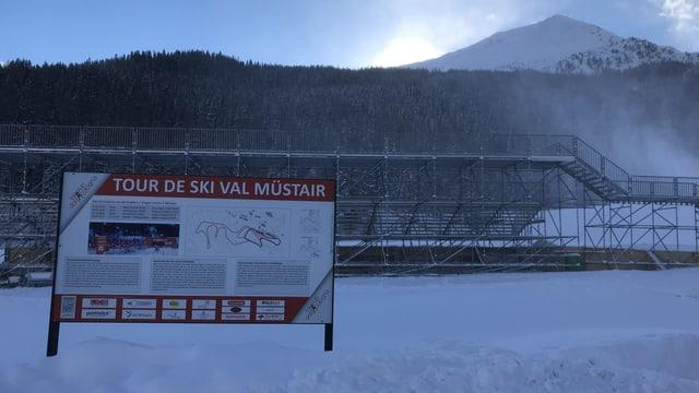 Traject Tour de ski en Val Müstair