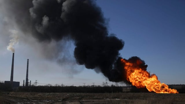 Mariupol senza gas: Ina pipeline saja vegnida grategiada durant ils cumbats.