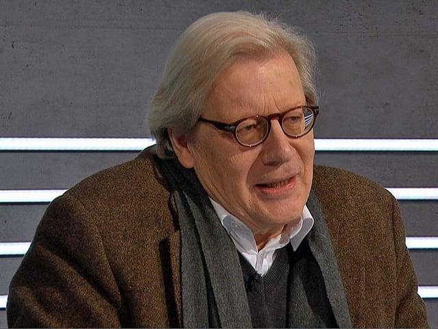 Georg Kohler am Expertentisch.