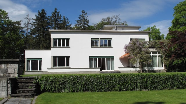 Sergej Rachmaninoffs moderne Villa in Hertenstein.