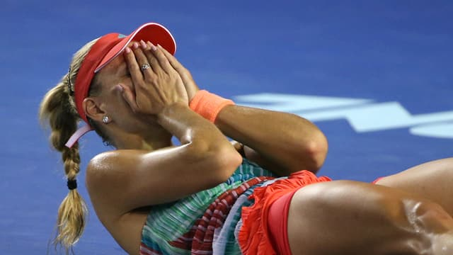 La giugadra da tennis da la Germania, Angelique Kerber.