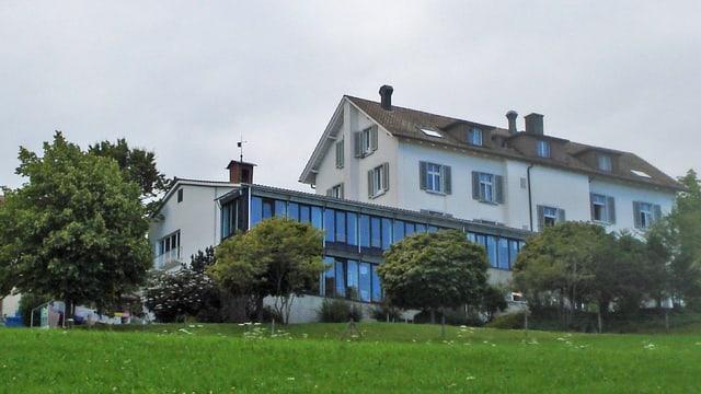 Das ehemalige Kur- und Seminarhotel Landegg - heute ein Asylzentrum.