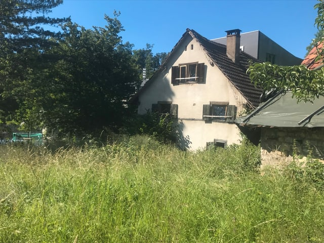 Bis 1968 war das Haus bewohnt