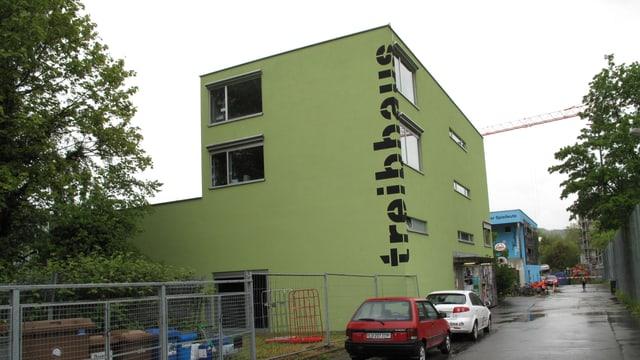 Das Jugend-Kulturhaus Treibhaus am Luzerner Spelteriniweg.