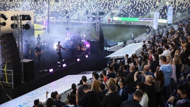 Konzert in Tel Aviv.