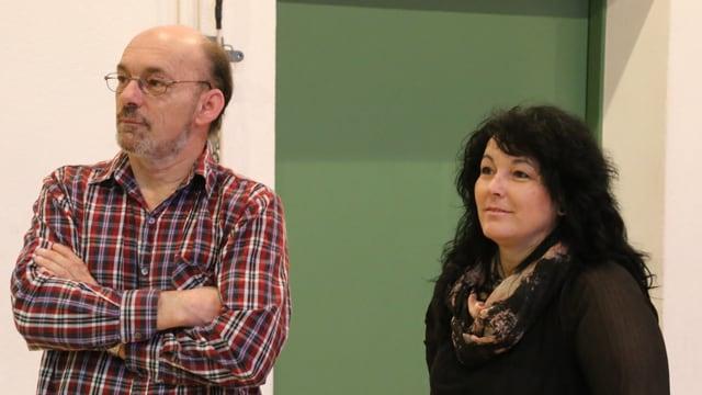 Ils fragliuns Romy Carigiet- Derungs e Berthold Derungs