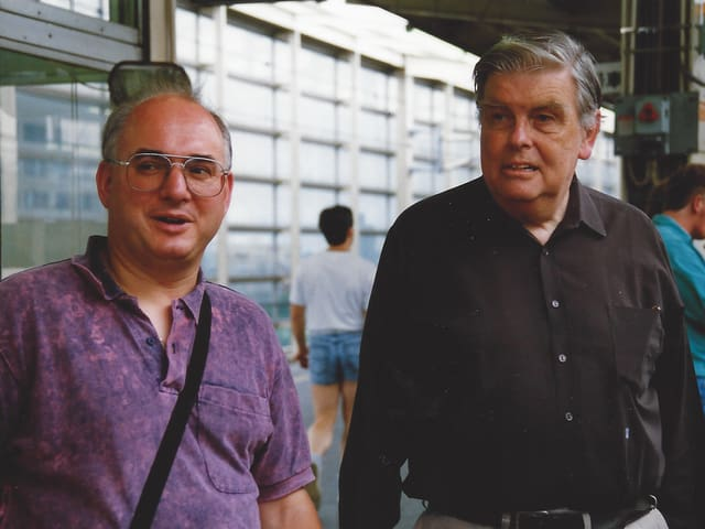 Bruno Syfrid und Wisel Gyr.