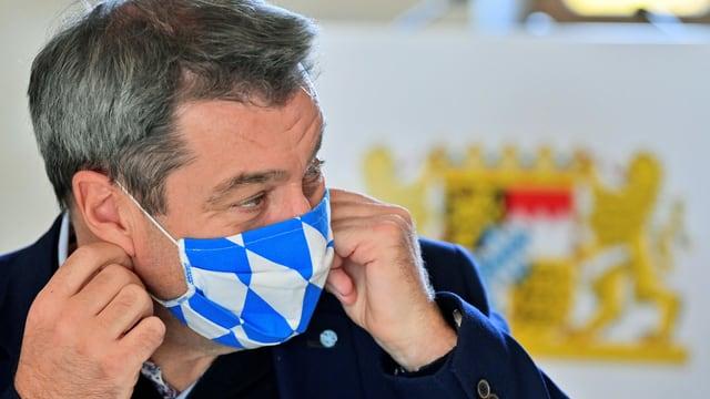 Zu sehen Markus Söder, bayrischer Ministerpräsident.