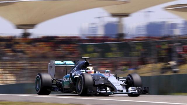 L'auto da furmla 1 da Lewis Hamilton