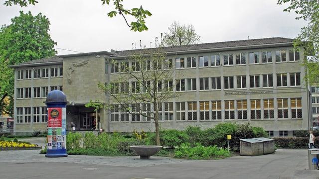 Die Zentral- und Hochschulbibliothek im Luzerner Vögeligärtli.