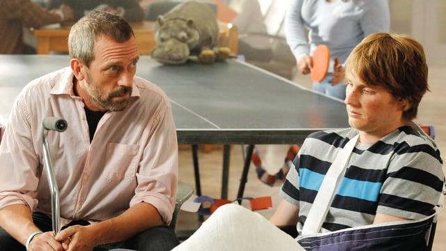 Hugh Laurie als Dr. Gregory House – ein unangenehmer Mensch mit guten Ideen.
