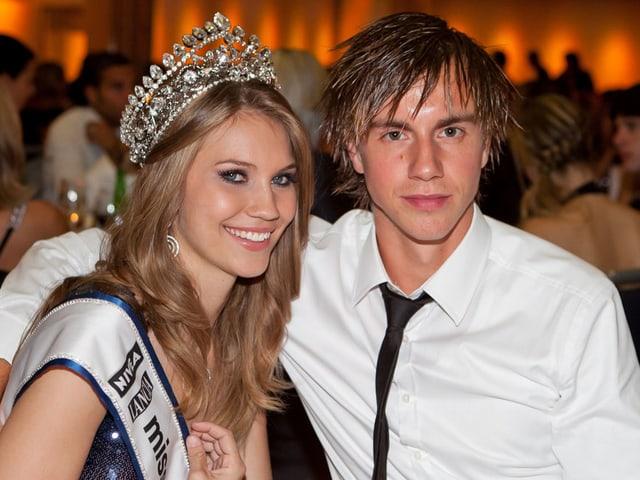 Kerstin Cook und ihr Freund Silvan Büchi
