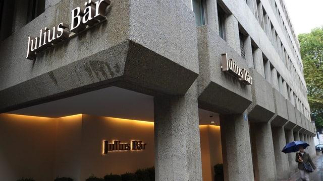 Sitz der Bank Julius Bär.