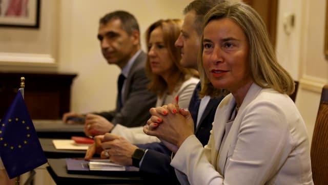 Federica Mogherini.