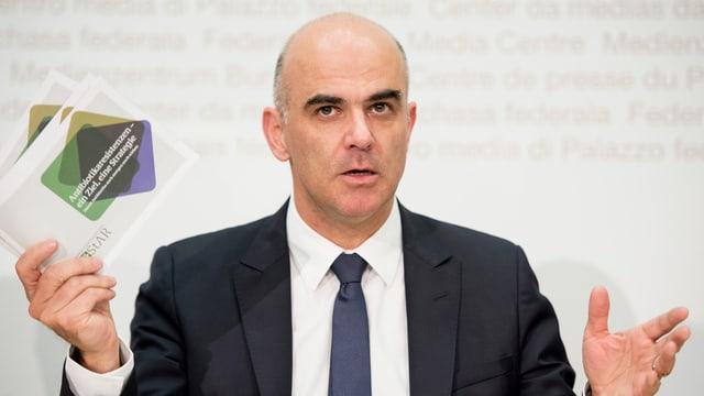 Cusseglier federal Alain Berset.