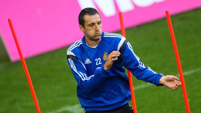 Kuzmanovic beim Training