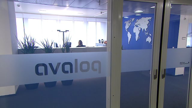 Avaloq-Eingang.